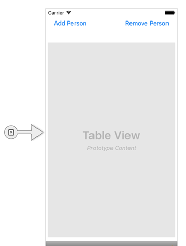 showing designer when creating the iOS view